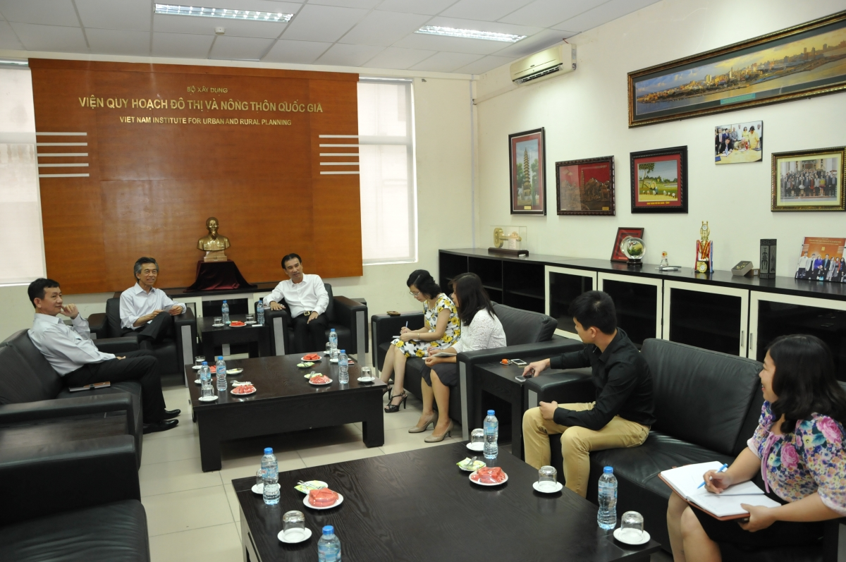 General director received the representative of Perkins Eastman firm (US)