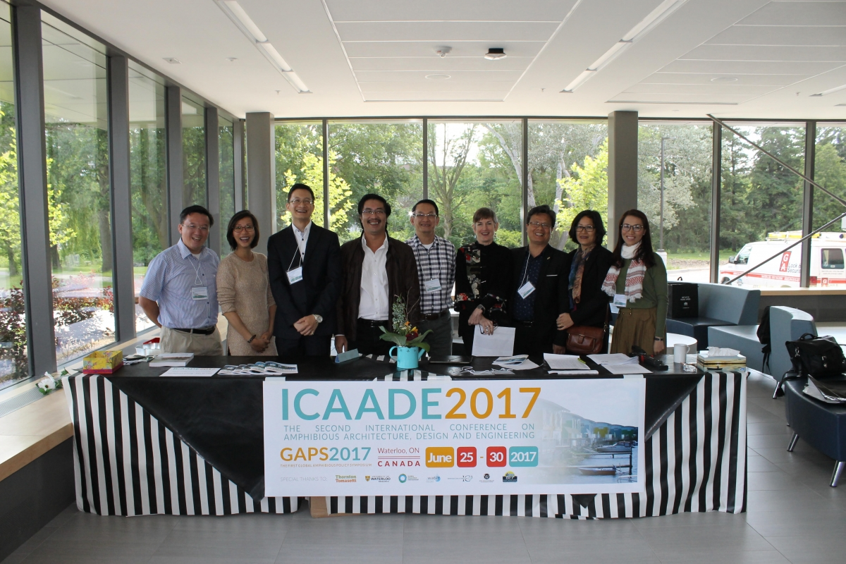 ICAADE 2017 - The second International Conference on Amphibious Architecture, Design and Engineering