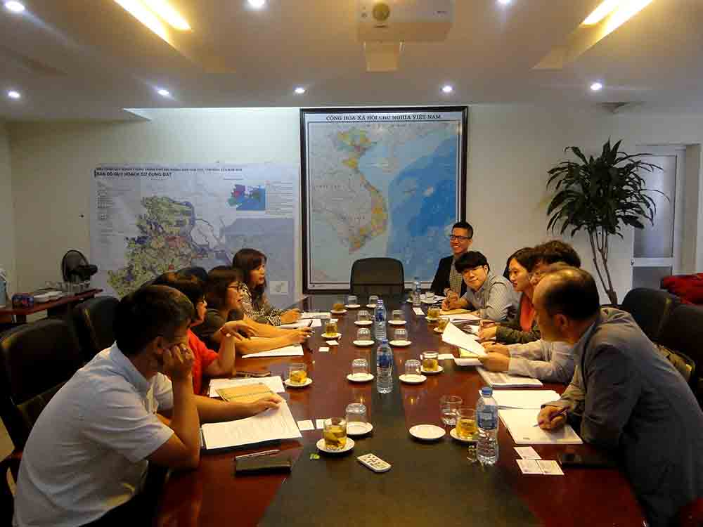 VIUP Deputy Director received delegation from Korea Housing Builders Association