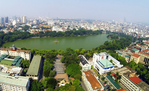 Hanoi targets to become a green and modern urban area