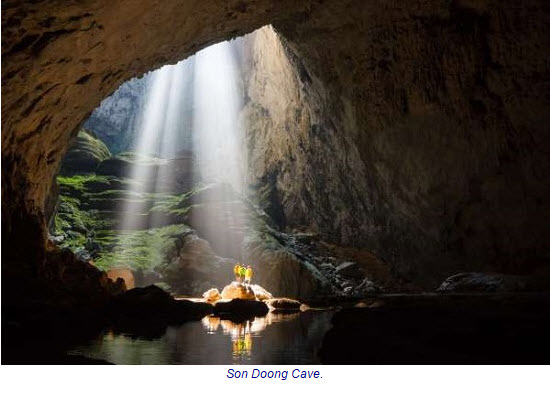 Son Doong recognized as the world's largest natural cave